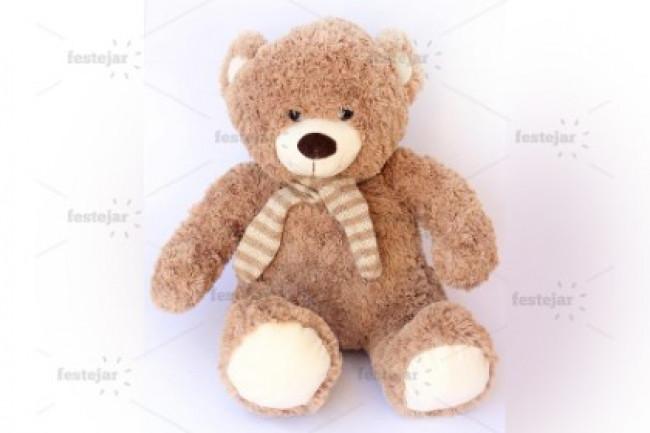 Urso cachecol 38cm