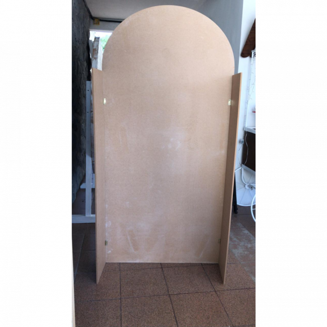 PAINEL OVAL CANDY COLOR AZUL BB
