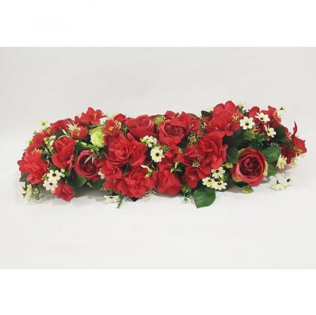 Arranjo de flores em barra (75cm)