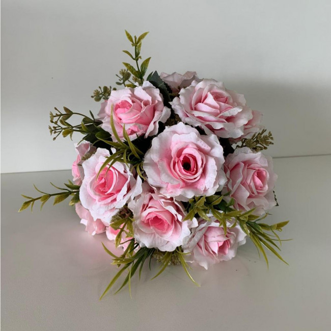 Arranjo de Flores Permanentes Pequeno - Rosa claro