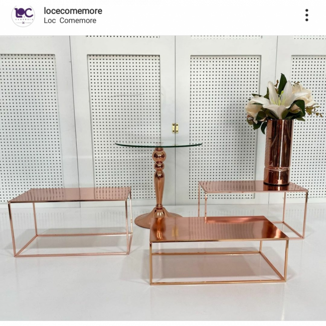 LOC BOX ROSÉ GOLD R$70